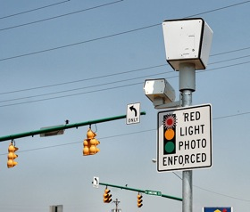 Springfield, Ohio traffic camera photo by Derek Jensen.