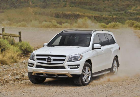 2012 Mercedes-Benz GL350 © Mercedes-Benz USA