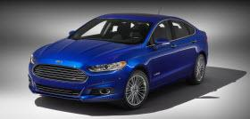 2013 Ford Fusion Hybrid. Photo by Ford.
