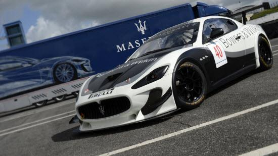Maserati GranTurismo MC Trofeo. Photo by Maserati.
