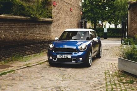 Leaked photo of MINI Paceman (courtesy of Road & Track)