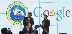Google California Self-Driving Car Bill Signed into Law. Photo by Google/YouTube.