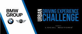 BMW Urban Driving Experience Challenge. Image by BMW.