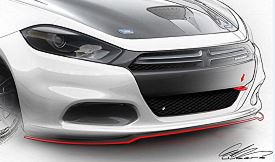 Dodge Dart Sketch © Chrysler LLC
