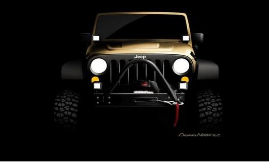 Jeep Concept for SEMA 2012 © Chrysler LLC