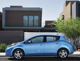 2013 Nissan Leaf. Photo by Nissan.