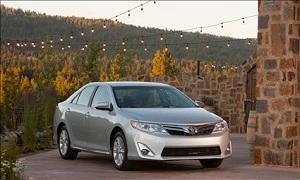 The Camry helped propel Toyota sales in September. (© Toyota Motor Sales, U.S.A.)