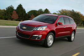 2013 Chevy Traverse. Photo by GM.