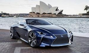 Lexus LF-LC Blue Concept (&#169; Lexus)