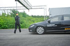 Continental Pedestrian Detection. Photo by Continental.