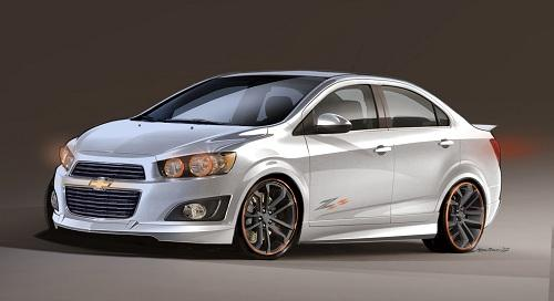 Chevrolet Sonic Z-Spec 2.5 Concept (© General Motors)