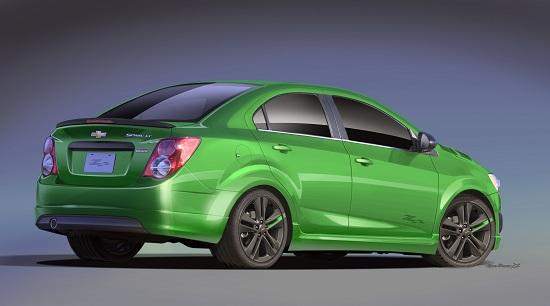 Chevrolet Sonic Z-Spec 1 Concept (© General Motors)