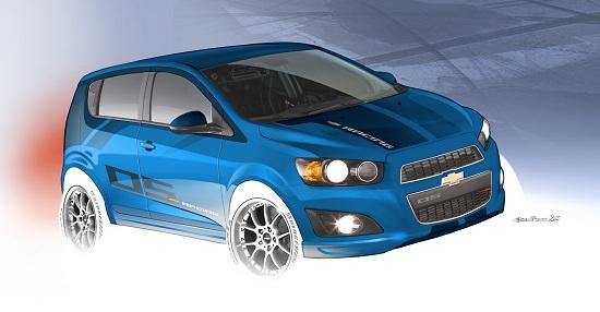 Chevrolet Sonic B-Spec (© General Motors)