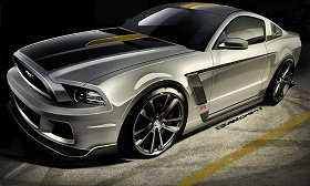 Ringbrothers 2013 Ford Mustang GT (© Ford Motor Company)