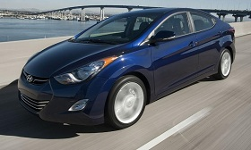 The Hyundai Elantra doesn't get 40 mpg on the highway, as the automaker once claimed. (© Hyundai Motor America)