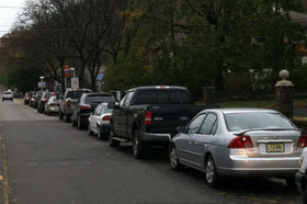 Gas lines in New Jersey. Photo by Flikr user Deb.
