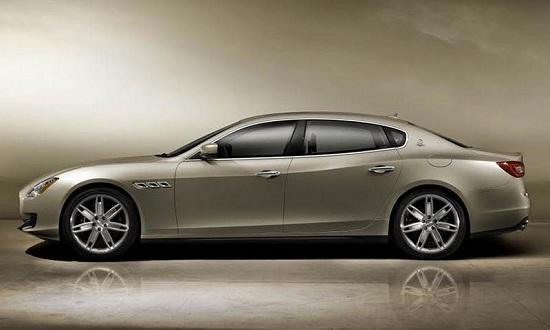 Redesigned Maserati Quattroporte (© Maserati)