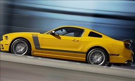 2013 Ford Mustang Boss 302 (© Ford Motor Company)