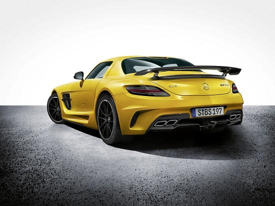 2014 Mercedes-Benz SLS AMG Black Series (© Mercedes-Benz)