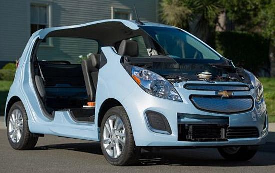 Chevrolet Spark EV cutaway (c) GM