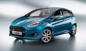 2014 Ford Fiesta (© Ford Motor Co.)