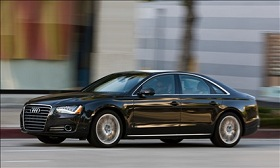 2013 Audi A8 (© Audi of America)