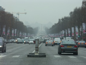 Paris traffic photo by Radovan Bahna