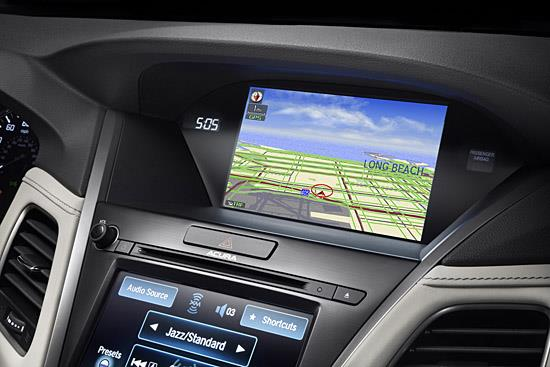 AcuraLink in the 2014 Acura RLX (c) Honda