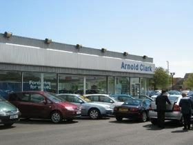 Car showroom photo by Lizzie