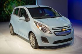2013 Chevy Spark EV. Photo by GM.