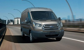 2014 Ford Transit (© Ford Motor Co.)