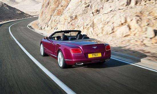 Bentley Continental GT Speed Convertible (c) Bentley Motors