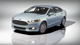 Ford Fusion Energi. Photo courtesy of Ford.