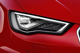 Audi Matrix LED headlights. Photo by Audi.