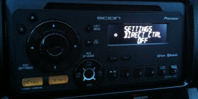 Scion FR-S iPod Direct Control