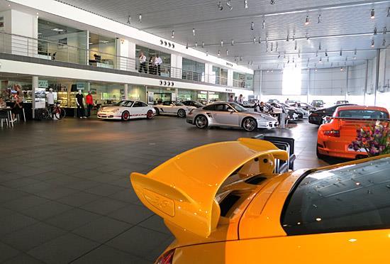 Porsche Johannesburg showroom (c) Clifford Atiyeh