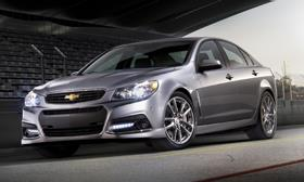 Chevrolet SS sedan©GM