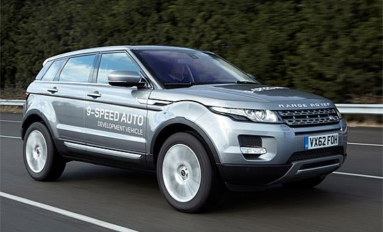 Range Rover Evoque (c) Land Rover