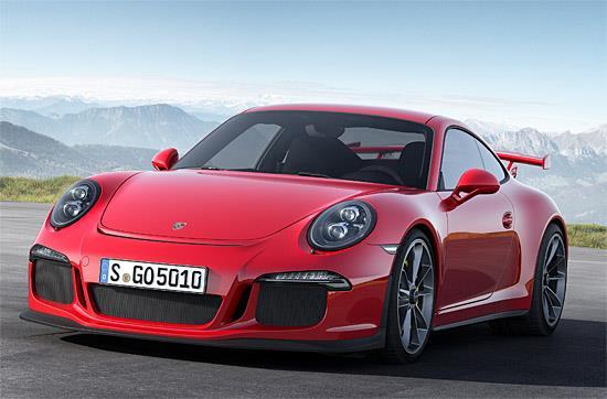 2014 Porsche 911 GT3 (c) Porsche
