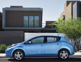 Nissan Leaf. Photo by Nissan.