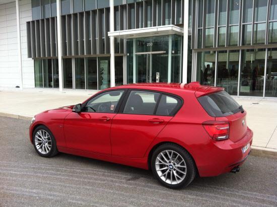 BMW 3-cylinder prototype.
