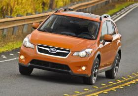 Subaru VX Crosstek. Photo by Subaru.