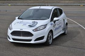 Ford Fiesta eWheelDrive prototype. Photo by Ford.