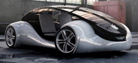Apple iCar. Image courtesy of Digital Trends.