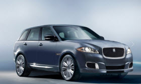 Jaguar QX rendering. Image courtesy of Edmunds.com.