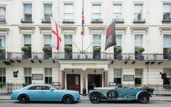 1913 Rolls-Royce Silver Ghost and 2013 Alpine Trial Centenary Collection Rolls-Royce Ghost