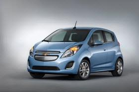 2014 Chevy Spark EV. Photo by General Motors.