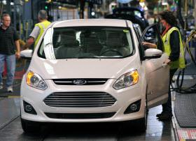 Ford assembly line. Photo by Ford.