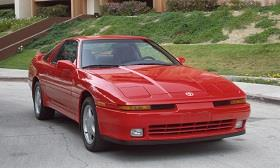 1993 Toyota Supra (© Toyota Motor Sales, USA)