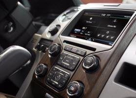 2013 Ford F-150 MyFord Touch system. Photo by Ford.